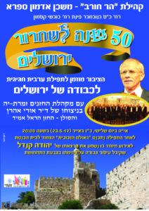 +הר חורב -יום ירושלים תשע''ז